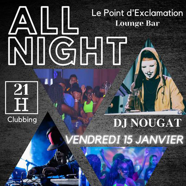 Affiche All Night carré