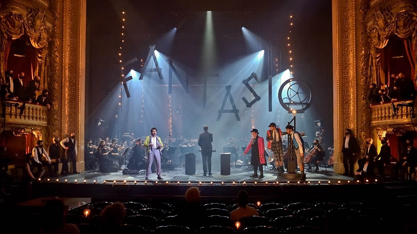 Spectacle, Chantons, faisons tapage